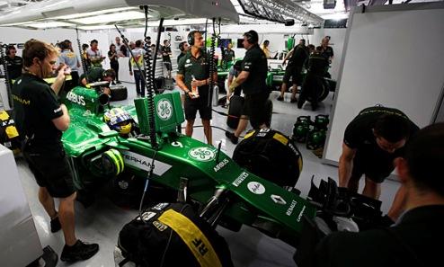 Формула-1. Катерхэм приедет на Гран-при Австрии