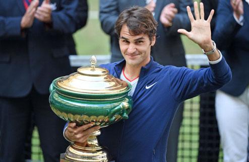 """Федерер: """"Рад седьмому чемпионству в Галле"""""""