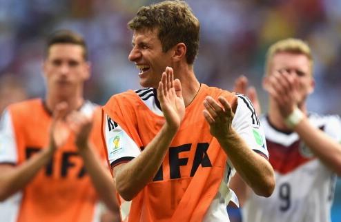 Мюллер – лучший игрок матча  Германия – Португалия