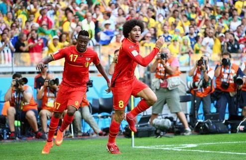 Бельгия с приключениями обыграла Алжир