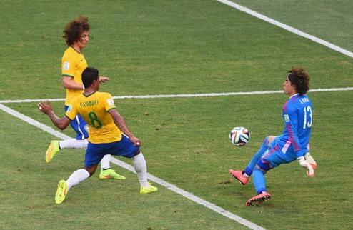 Очоа сдержал Бразилию