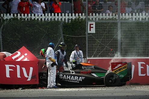 Формула-1. ФИА пересмотрит наказание Переса