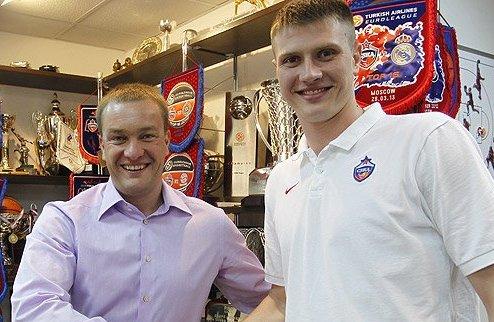 ЦСКА продлил Воронцевича еще на три года