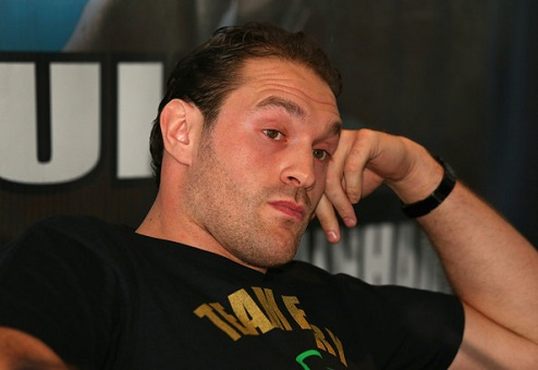 """Фьюри: """"Кличко скорее завяжет  боксом, чем выйдет в ринг со мной"""""""