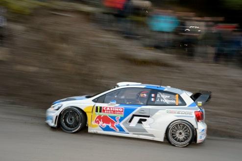 WRC. Ралли Польши. Ожье лидирует в первый день