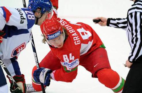 Грабовский — лучший игрок Беларуси