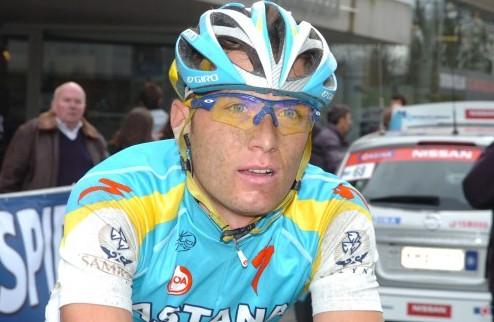 Гривко – единственный представитель Украины на Тур де Франс
