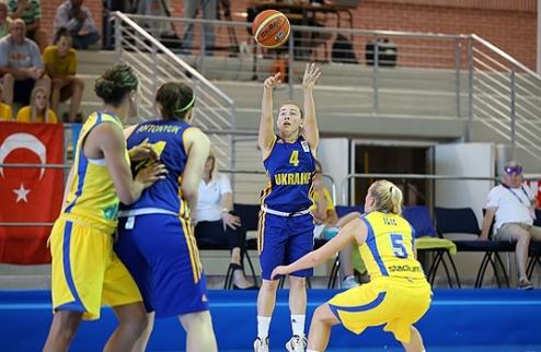 Женский Евробаскет U-20. Украина начинает с победы над Швецией