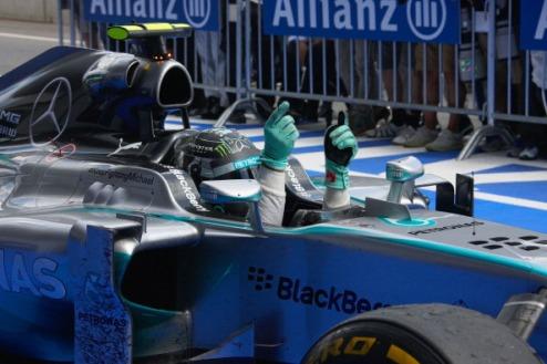 Формула-1. Гран-при Великобритании. Росберг выигрывает первую практику