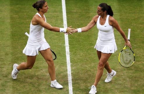 Эррани и Винчи – чемпионки Уимблдона в паре