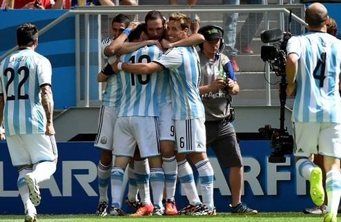 Аргентина прошла Бельгию на пути в полуфинал