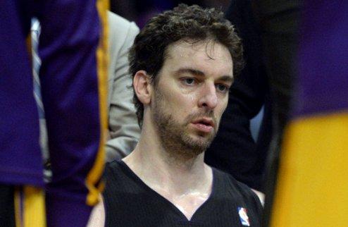 НБА. Газоль останется в Лейкерс при подписании суперзвезды