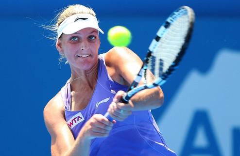Бад Гаштайн (WTA). Плишкова выбила Бартель, Фогель сильнее Гергес