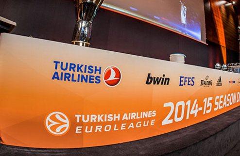Евролига. Чемпионы Испании, Греции, Италии, Турции и Германии — в одной группе
