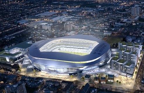 Тоттенхэм переедет на новый стадион в 2017 году + ФОТО