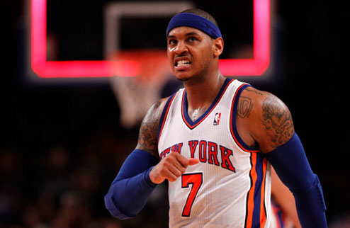 НБА. Энтони окончательно решил остаться в Никс
