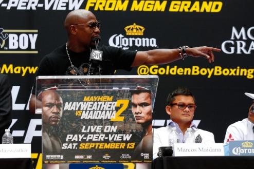 """Мейвезер: """"Буду драться не с боксером, а бойцом MMA"""""""
