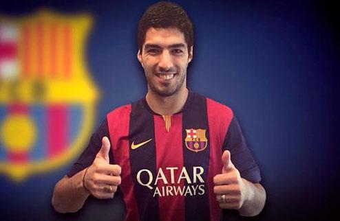Суарес подписал контракт с Барселоной