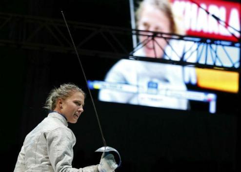 Фехтование. Харлан — чемпионка мира