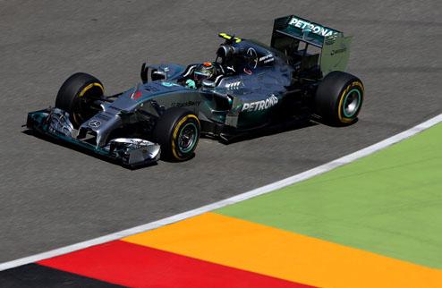 Формула-1. Гран-при Германии. Росберг выигрывает третью практику
