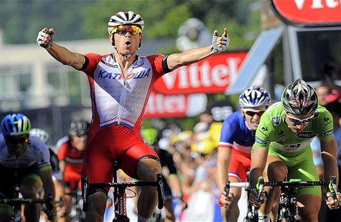 Тур де Франс. Кристофф уверенно побеждает в Ниме