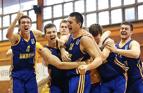 Евробаскет U-20. Украина выходит в Дивизион А!