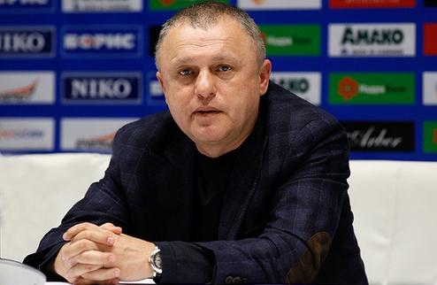 Игорь Суркис не исключает покупку форварда