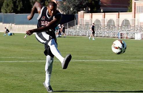 НБА. Кармело Энтони посетил тренировку Реала. ФОТО