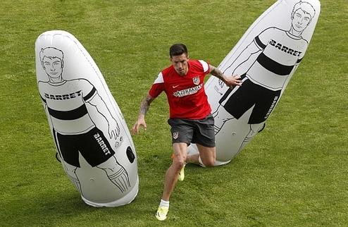 Соса тренируется с Атлетико