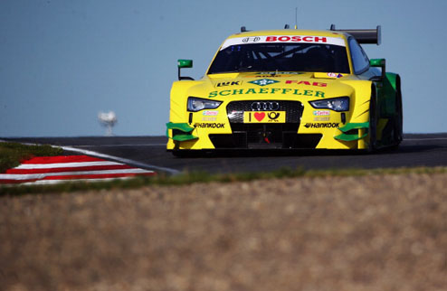 DTM. Роккенфеллер потеряет три места на старте гонки в Шпильберге