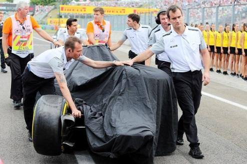 Формула-1. Магнуссен будет стартовать с пит-лейн