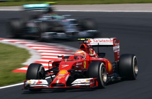 Формула-1. Райкконен доволен шестым местом