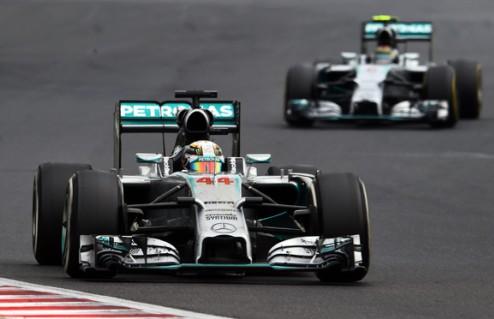 Формула-1. Мерседес обещает не прибегать к командой тактике
