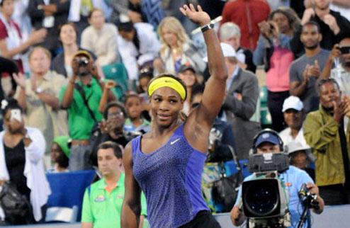 Стэнфорд (WTA). Волевая победа Серены
