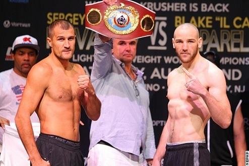 Ковалев и Капарелло показали одинаковый вес