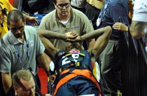 Пол Джордж получил страшную травму ноги + ВИДЕО