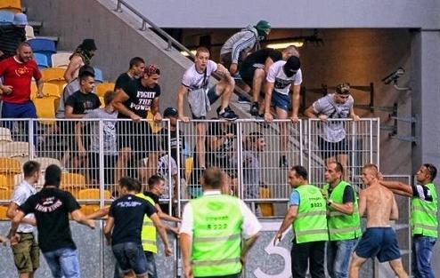 На болельщиков Копенгагена напали фанаты Динамо?