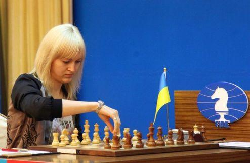 Шахматы: украинки занимают 13 место после двух туров