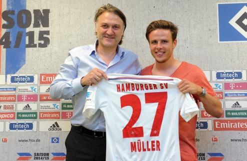 Гамбург подписал Николая Мюллера