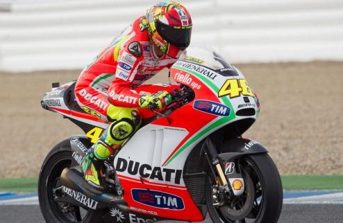 MotoGP. Гран-при Индианаполиса. Росси выигрывает первую практику