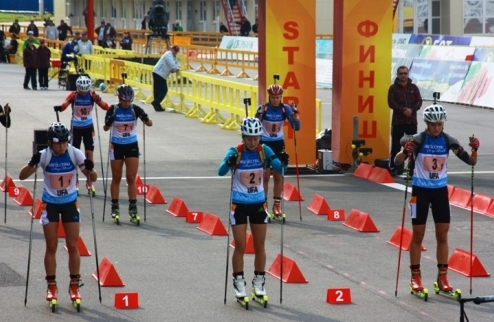 �������. ��������� ��������� ��������� � ������������ �� Odlo City Biathlon