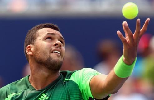 Тсонга продавил Федерера в финале Торонто