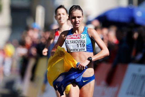 Легкая атлетика. Украинка Оляновская с серебром чемпионата Европы