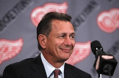 НХЛ. Детройт: новый контракт генерального менеджера