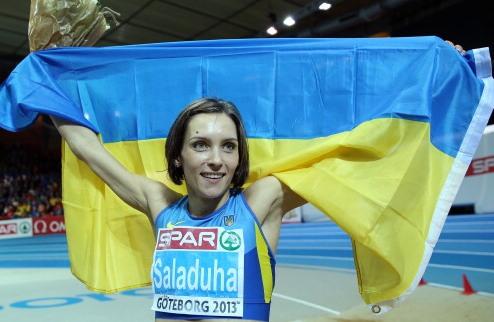 Легкая атлетика. Саладуха отстояла звание чемпионки Европы