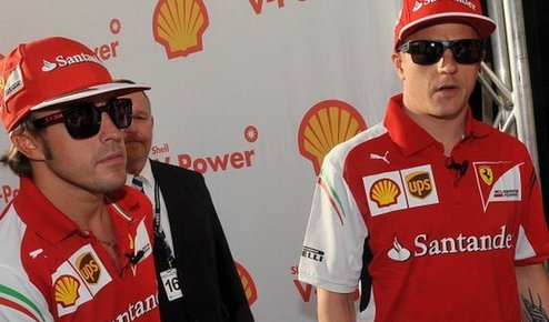 Формула-1. Феррари не собирается отпускать Алонсо и Райкконена