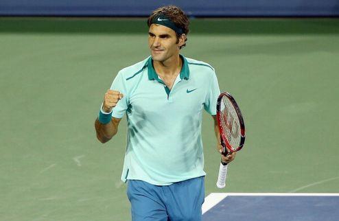 Федерер уверенно триумфует в Цинциннати