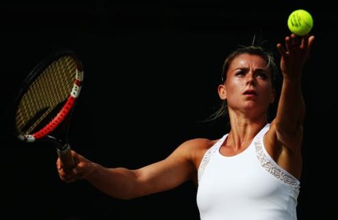Нью-Хейвен (WTA). Джорджи шокировала Возняцки, вылеты Бушар и Петкович