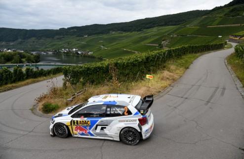 WRC. Ралли Германии. Латвала лидирует в первый день, Протасов в топ-15