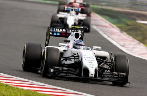 Формула-1. Гран-при Бельгии. Боттас выигрывает третью практику